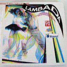 Discos de vinilo: LAMBADA (VERSION ORIGINALE LA FOLIE EN DIRECT DU BRASIL 20 TITRES A DANSER) LP33 DOBLE. Lote 8848560