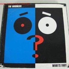 Discos de vinilo: THE MADNESS (WHAT'S THAT) MAXISINGLE 45RPM. Lote 49884753