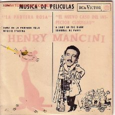 Discos de vinilo: HENRY MANCINI DISCO EP ESPAÑOL 1964 RCA.LA PANTERA ROSA . Lote 10103515