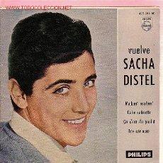Discos de vinilo: SACHA DISTEL DISCO EP. Lote 13519781