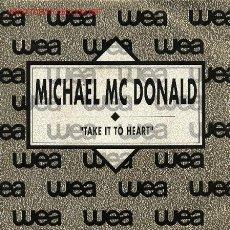 Discos de vinilo: MICHAEL MC. DONALD . Lote 727954