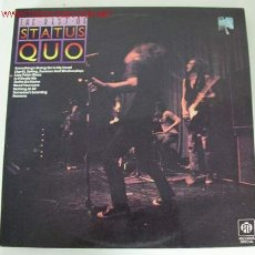 Discos de vinilo: STATUS QUO ( THE REST OF STATUS QUO ) 1976 - ENGLAND LP33 PYE RECORDS. Lote 10836348