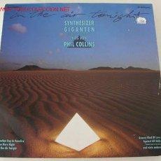 Discos de vinilo: SYNTHESIZER GIGANTEN INTERPRETIEREN HITS PHIL COLLINS LP33. Lote 730073