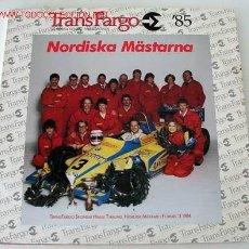 Discos de vinilo: TRANS FARGO '85 (DAVID BLACK, LEON KIRBY, BACKSHOOT'S, THE MURPHYS, DON CURTIS, RICK FOREMAN)LP33. Lote 730226