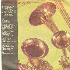 Discos de vinilo: HISTORIA DE LA MUSICA .CODEX. Lote 735022