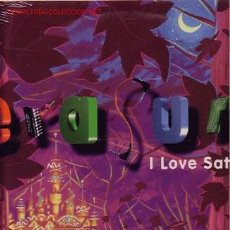 Discos de vinilo: ERASURE MAXI I LOVE SATURDAY. Lote 23513471
