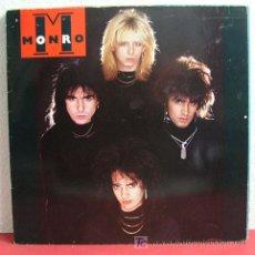 Discos de vinilo: MONRO ' MONRO ' 1987 LP33. Lote 3066235