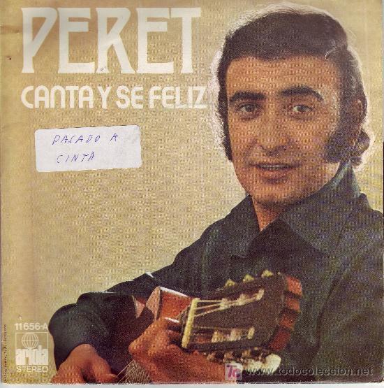 PERET DISCO SINGLE EUROVISION 1974 ARIOLA 11656-A DISCO PERFECTO PORTADA VER FOTO (Música - Discos - Singles Vinilo - Festival de Eurovisión)