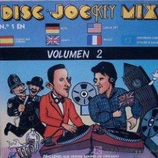 Discos de vinilo: DISC JOCKEY MIX (3 DISCOS) KEY RECORDS 1987. Lote 7378097