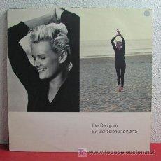 Discos de vinilo: EVA DAHLGREN ' EN BLEKT BLONDINS HJARTA ' 1991 LP33. Lote 3084284