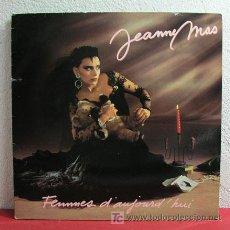 Discos de vinilo: JEANNE MAS ' FEMMES D'AUJOURD HUI ' FRANCE-1986 LP33. Lote 3085894