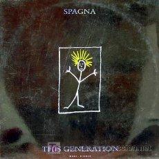 Discos de vinilo: SPAGNA-THIS GENERATION MAXI SINGLEEDITADO POR CBS EN 1989 SPAIN EX-B. Lote 3092228