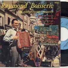 Discos de vinilo: EP 45 RPM / RAYMOND BOISSERIE / PERLES DE CRISTAL //// EDITADO POR TRIANON . Lote 17549421