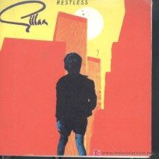 Discos de vinilo: GILLAN-RESTLESS + ON THE ROCKS SINGLE EDITADO POR VIRGIN EN 1981 RARE COVER POSTER ENGLAND EX-EX. Lote 3110872