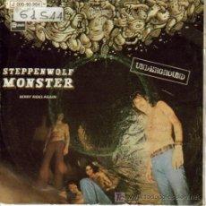 Discos de vinilo: STEPPENWOLF-MONSTER + BERRY RIDES AGAIN SINGLE EDITADO POR EMI EN 1969 SPAIN B-B. Lote 3143393
