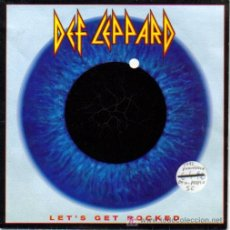 Discos de vinilo: DEF LEPPARD-LET´S GET ROCKED + ONLY AFTER DARK SINGLE VINILO EDITADO POR PHONOGRAM EN 1992 EX-N. Lote 3146747