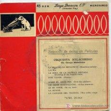 Discos de vinilo: ORQUESTA MELACHRINO / LA MELODIA DE BROADWAY / LAURA / LA BODA DE LA MUÑECA PINTADA.... Lote 3166381