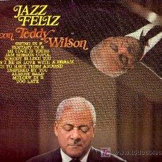 Discos de vinilo: TEDDY WILSON DISCO LP DISCOPHON 4334 1972 SPA. Lote 20746622
