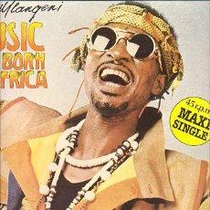 Discos de vinilo: LP MAXI 45 RPM / BABSY MLANGENI / MUSIC WAS BORN IN AFRICA // EDITADO POR EMI // NUEVO . Lote 10024308