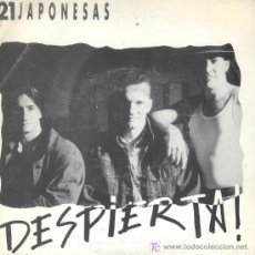 Discos de vinilo: 21 JAPONESAS-DESPIERTA SINGLE VINILO EDITADO POR ISLAND EN 1990 PROMOCIONAL B-B. Lote 3211321