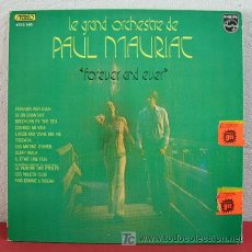 Discos de vinilo: LE GRAND ORCHESTRE DE ' PAUL MAURIAT ' ( FOREVER AND EVER ) FRANCE-1973 LP33. Lote 3242785