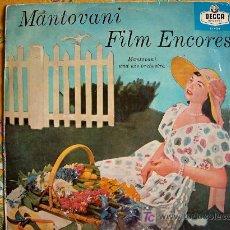 Discos de vinilo: MANTOVANI AND HIS ORCHESTRA - FILM ENCORES (EXITOS MUSICALES DE PELICULAS). Lote 11471937