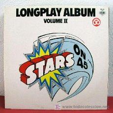 Disques de vinyle: LONGPLAY ALBUM VOLUME II ' STARS ON 45 LONG PLAY ALBUM ' 1981 LP33. Lote 3245784