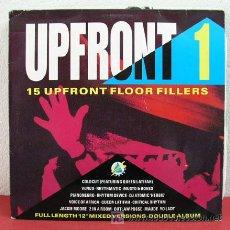 Discos de vinilo: UPFRONT 1 ' RHYTHMATIC, PIANONEGRO, JACKIE MOORE, VOICE OF AFRICA, COLDCUT... ' 1990 LP DOBLE. Lote 3245829