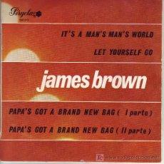 Discos de vinilo: JAMES BROWN DISCO EP PERGOLA EDICION CIRLULO LECTORES 10173 SPA 1970. Lote 10481757