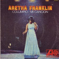 Dischi in vinile: ARETHA FRANKLIN DISCO SINGLE COLUMPIO H410 1968 SPA. Lote 3256520
