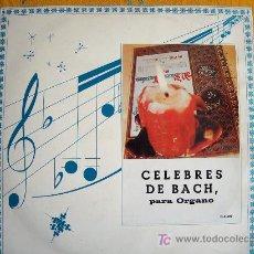 Discos de vinilo: BACH - CELEBRES DE BACH PARA ORGANO - WERNER SIMONS-ORGANO. Lote 3261880