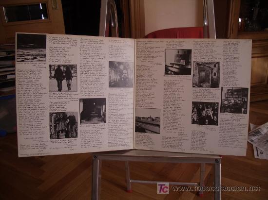 Discos de vinilo: José Antonio LABORDETA. Cantes de la tierra adentro. Disco LP. Año 1976 - Foto 3 - 23050851