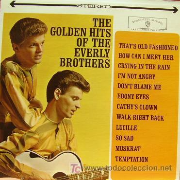 THE EVERLY BROTHERS - THE GOLDEN HITS OF LP EDITADO EN USA RARO (Música - Discos - LP Vinilo - Rock & Roll)