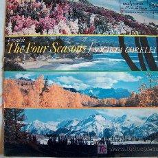Discos de vinilo: VIVALDI-THE FOUR SEASONS - SOCIETA CORELLI - VITTORIO EMANUELE, VIOLÍN. Lote 3275068