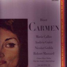 Discos de vinilo: BIZET CARMEN CAJA CON 2 LP Y LIBRETO MARIA CALLAS VER ESTADO MUSICA CLASICA . Lote 26007877