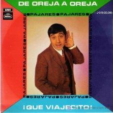 Discos de vinilo: PAJARES - EMI 1969. Lote 27246779