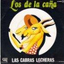 Discos de vinilo: LOS DE LA CAÑA - LAS CABRAS LECHERAS / QUE SERÁ DE MI - ZAFIRO, 1978. Lote 22604714