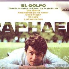 Discos de vinilo: RAPHAEL DISCO LP BANDA SONORA ORIGINAL EL GOLFO HH 11-173 1969. Lote 10336580