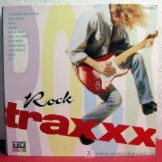Discos de vinilo: ROCK TRAXXX VOLUME 1 'POCO, EAGLES, PRETENDERS, ALICE COOPER, EDGAR WINTER,,,' LP33 DOBLE. Lote 3295653