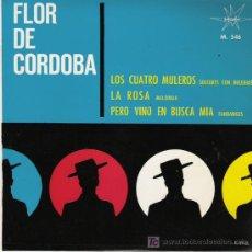 Discos de vinilo: FLOR DE CORDOBA. Lote 3309132