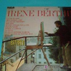 Discos de vinilo: IRENE BERTHIER. Lote 26729225