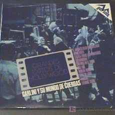 Discos de vinilo: ANTIGUO DISCO DE VINILO GRANDES EXITOS DE HOLLYWOD - CARLINI Y SU MUNDO DE CUERDAS - MOON RIVER, TON. Lote 20711205