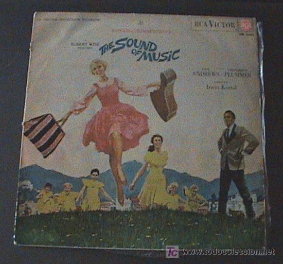 ANTIGUO DISCO DE VINILO - LP-THE SOUND OF MUSIC-BANDA SONORA EN CASTELLANO-SONRISAS Y LAGRINAS (Música - Discos - LP Vinilo - Bandas Sonoras y Música de Actores )