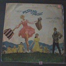 Discos de vinilo: ANTIGUO DISCO DE VINILO - LP-THE SOUND OF MUSIC-BANDA SONORA EN CASTELLANO-SONRISAS Y LAGRINAS. Lote 21804279