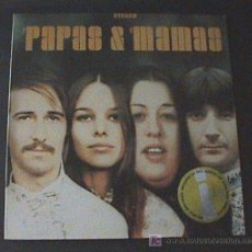 Discos de vinilo: ANTIGUO DISCO DE VINILO - THE PAPAS & THE MAMAS PRESENTED BY THE MAMAS & THE PAPAS USA LP33 . Lote 21804280