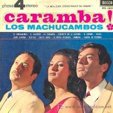 Discos de vinilo: LOS MACHUCAMBOS - CARAMBA!. LP EDITADO POR EL SELLO DECCA XXX. Lote 24129154