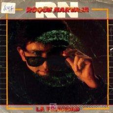 Discos de vinilo: ROQUE NARVAJA ··· LA FELICIDAD / HAY UN RUISEÑOR - (SINGLE 45 RPM). Lote 20156092