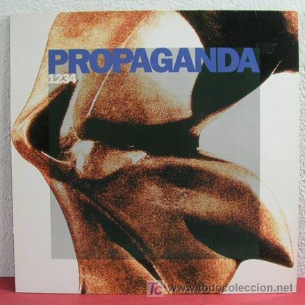 PROPAGANDA ( 1, 2, 3, 4 ) 1990 LP33 VIRGIN RECORDS (Música - Discos - LP Vinilo - Pop - Rock Extranjero de los 90 a la actualidad)