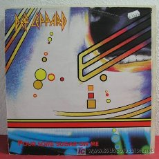 Discos de vinilo: DEF LEPPARD ( POUR SOME SUGAR ON ME 2 VERSIONES - I WANNA BE YOUR HERO ) 1987 MAXISINGLE45. Lote 3388119
