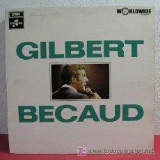 Discos de vinilo: GILBERT BECAUD ( GILBERT BECAUD ) ENGLAND LP33. Lote 3389533